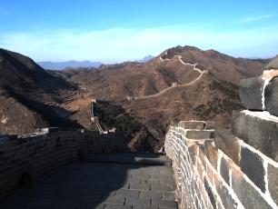 Kinesiska Muren utanför Peking