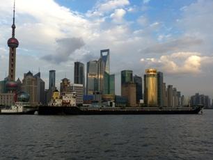 Skyskrapor i Pudong, Shanghai
