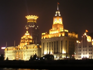 The Bund i Shanghai