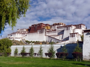 Potalapalatset i Lhasa, Tibet