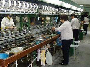 Sidenfabrik i Suzhou
