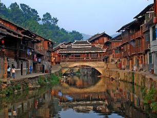 Floden i Zhaoxing