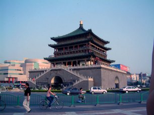 Klocktornet i Xian