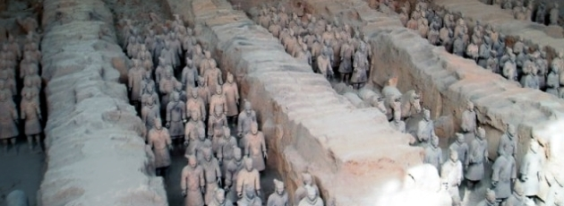 Terrakottaarmén i Xian