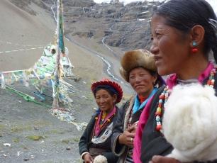 Tre kvinnor i Tibet