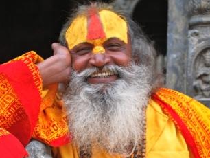 Helig man i Nepal