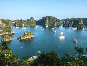 Vietnam norr till söder